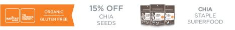 15% OFF 16oz Chia Seeds
