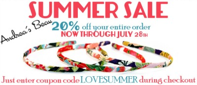 Andrea's Beau Summer Sale