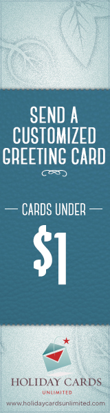 Send a Customized Greeting Cards!