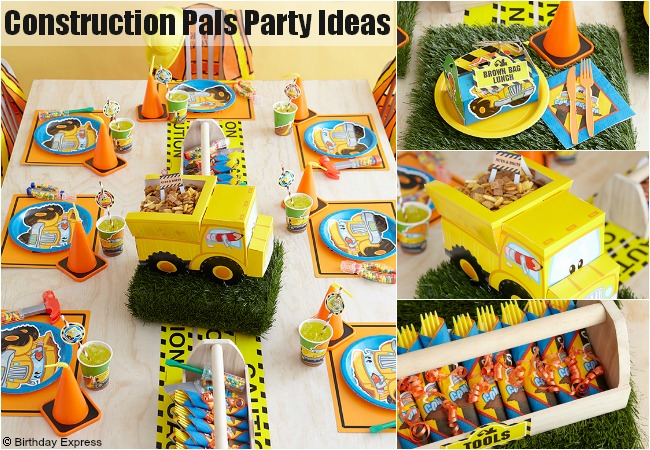 Construction Party Supplies at Birthday Express