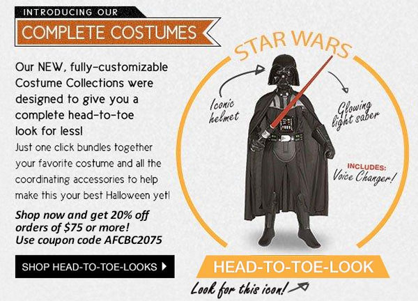 Introducing Complete Costumes from BuyCostumes.com