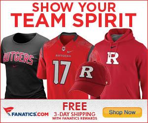 Shop Rutgers Scarlet Knights gear at Fanatics.com!