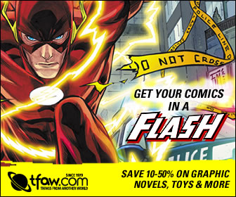 Get all your comics in a flash at TFAW.com