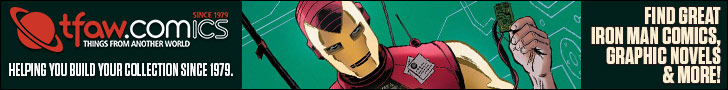 Save 10-50% on Iron Man Comics, Apparel, and More!