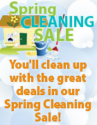 Spring Cleaning Sale at The Old Schoolhouse www.theoldschoolhousestore.com
