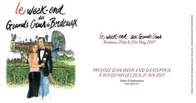 Week-end des Grands Crus à Bordeaux – Mai 2017