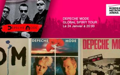 Depeche Mode revient à Bordeaux – Arena le 24 janvier 2018