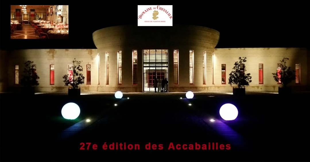 Les étoiles brillaient en Pessac Léognan pour ces 27e accabailles