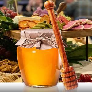 Italian Wood Honey Dipper
