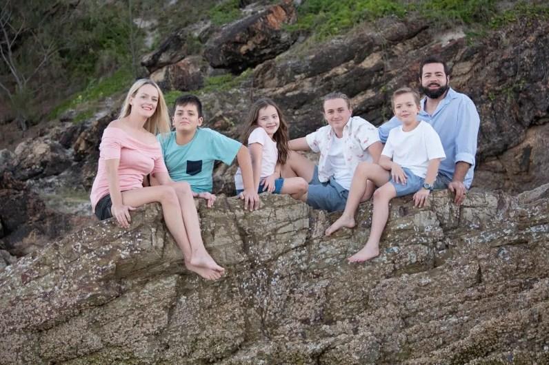 Miami Beach Gold Coast Family Photo Shoot