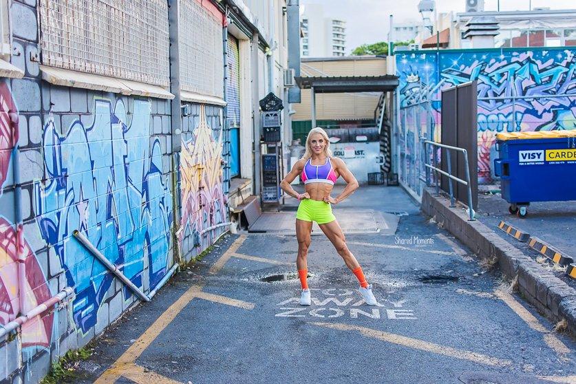 IFBB Figure Pro Jacquie Mync – Photoshoot Gold Coast