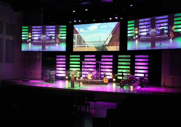 church lighting system providers for design
