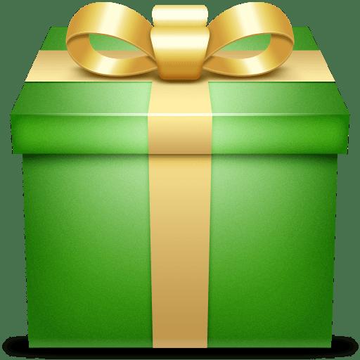 Present Gift Box Box Gift Green Icon