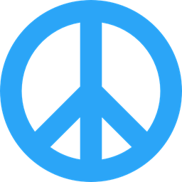 Download Shapes And Symbols, hippie, Peace, loving, Pacifism, love icon