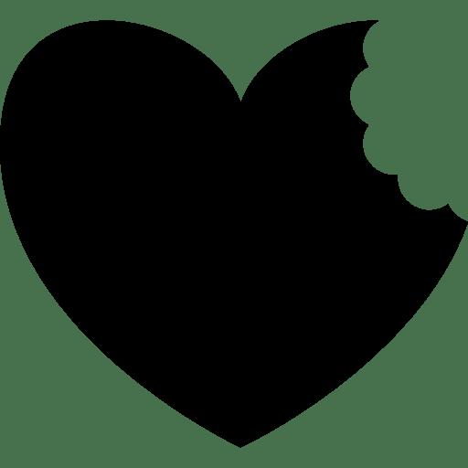 Hearts Food Cookie Bite Eating Eat Heart Cookies