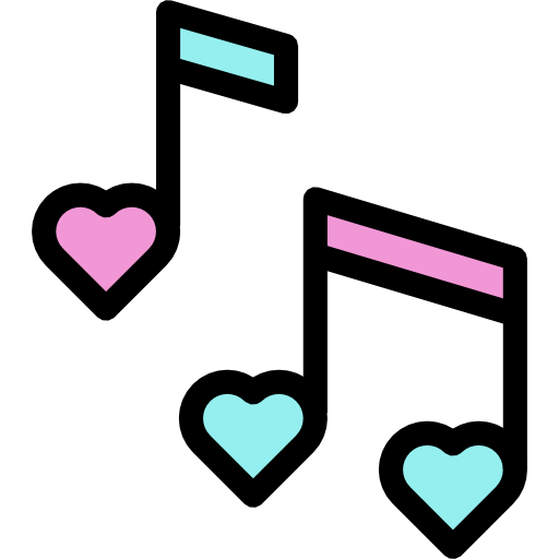 Download Quaver, symbol, Hearts, Musical Note, Musical Notes, music ...