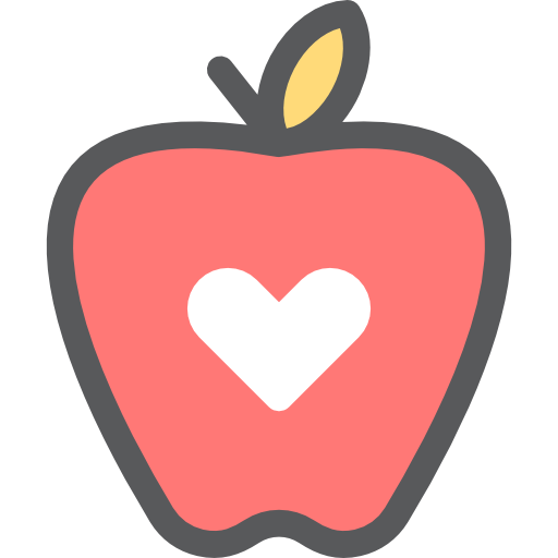 Download Apple, Heart, food, Healthcare And Medical, Fruit, organic ...