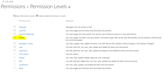 SharePoint Online: Edit Permission Levels using Powershell