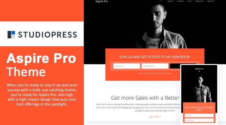 StudioPress Aspire Pro Theme Review