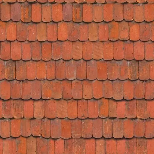 PBR roof tiles 1 diffuse - roof - seamless roof, roof tiles, roof