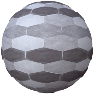 hexagon floor texture