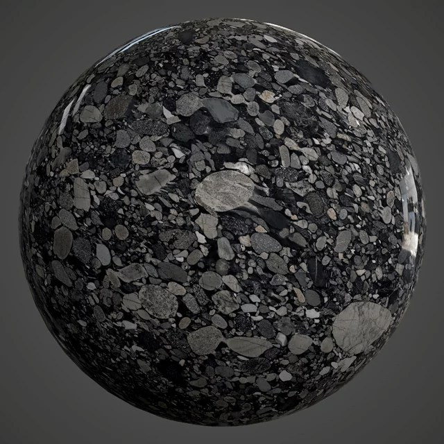 BLACK MARINACE - POLISHED - GRANITE