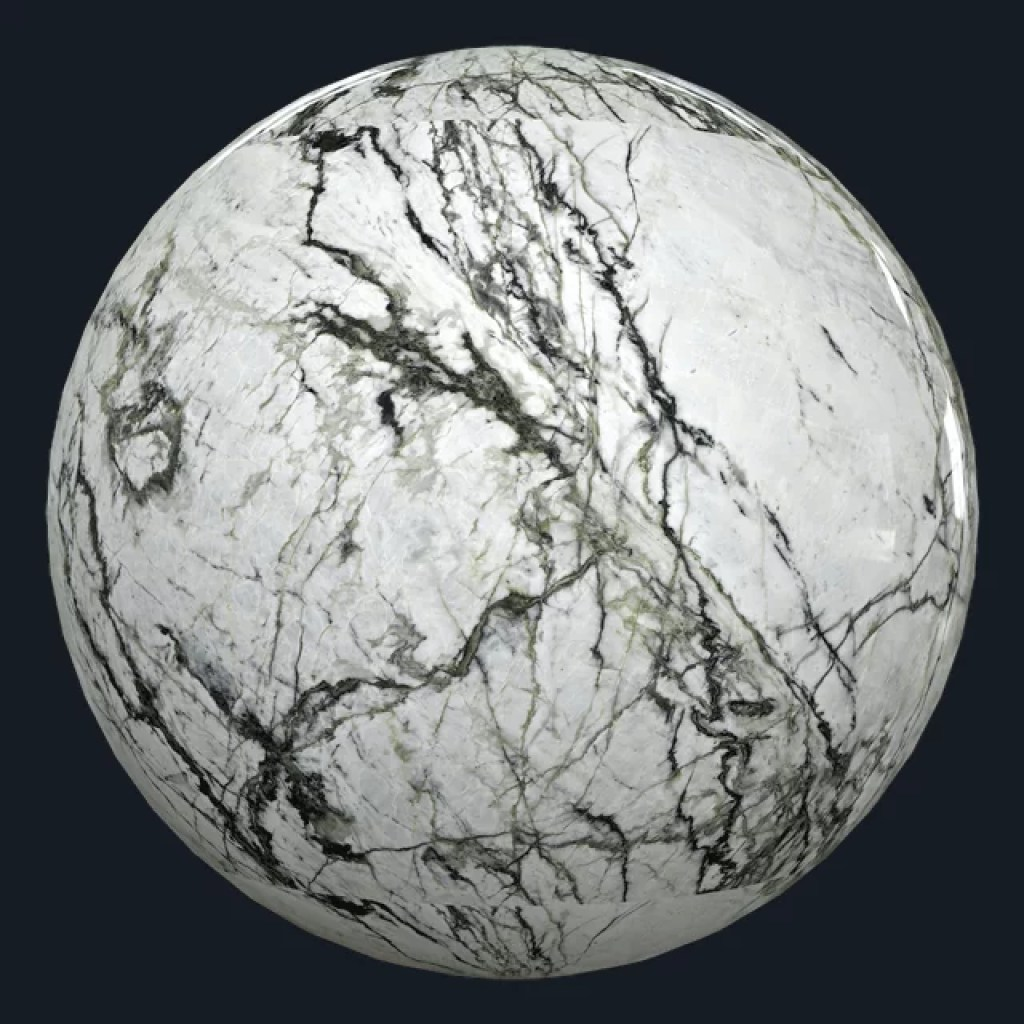Marble Textures - CALACATTA VERDE - POLISHED - MARBLE