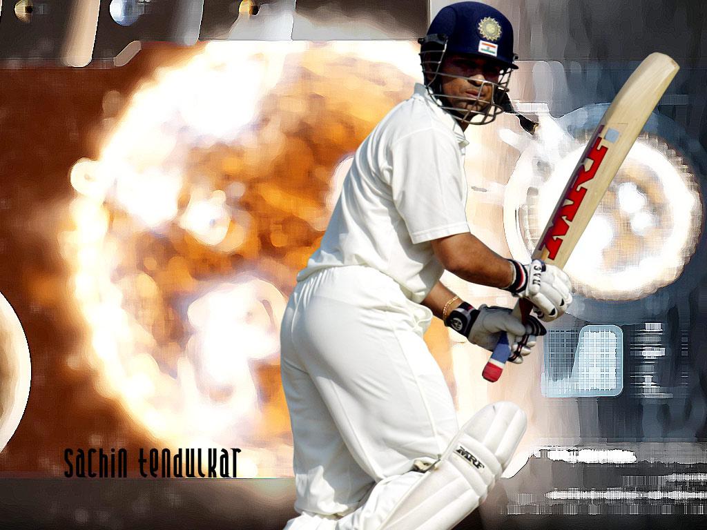Full size Sachin Tendulkar wallpaper / Celebrities Male / 1024x768