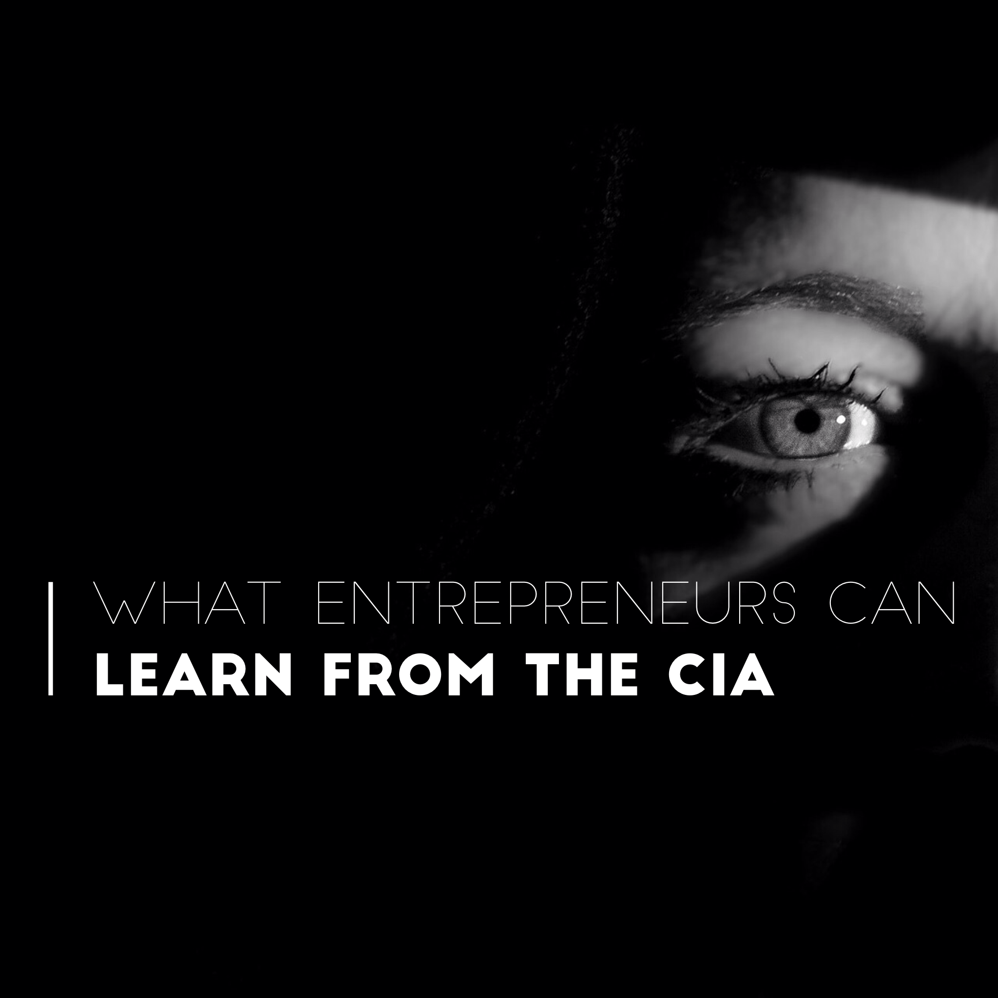 What Entrepreneurs Can Learn from the CIA