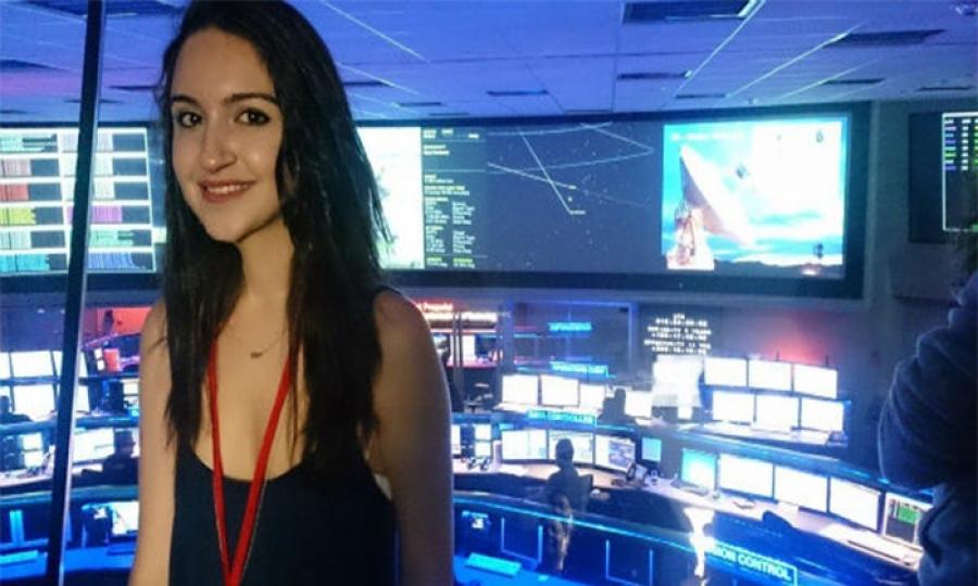 بعد أن وصلت مايا نصر إبنة التسعة عشر عاما إلى وكالة ناسا هل تحقق حلمها ببناء محطة فضائية؟
