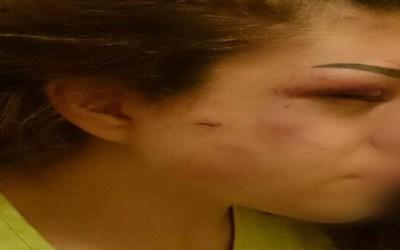 كان يحتجزها ويضربها في الأوزاعي وعندما عمدت الشرطة إلى إنقاذها حاول ذبحها