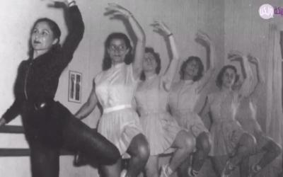 سلوى الخطيب من أوليات راقصات الباليه في لبنان