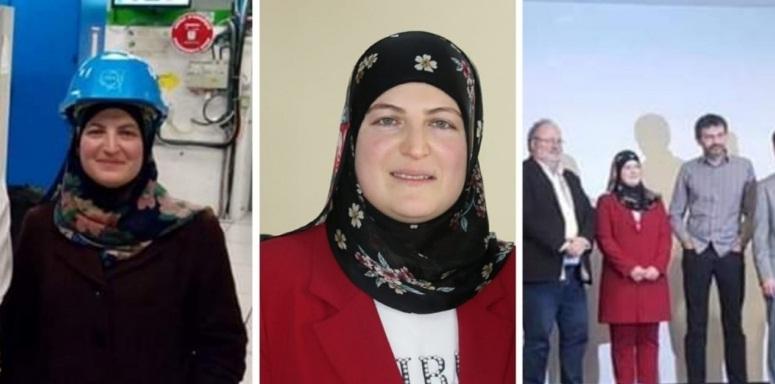 """""""ندى بركات""""، الأم والزوجة، تنال أول دكتوراه في """"اللبنانية"""" في مجال فيزياء الجزيئات"""