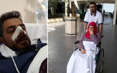 لبناني يعتدي جسديا على طليقته وهي حامل!