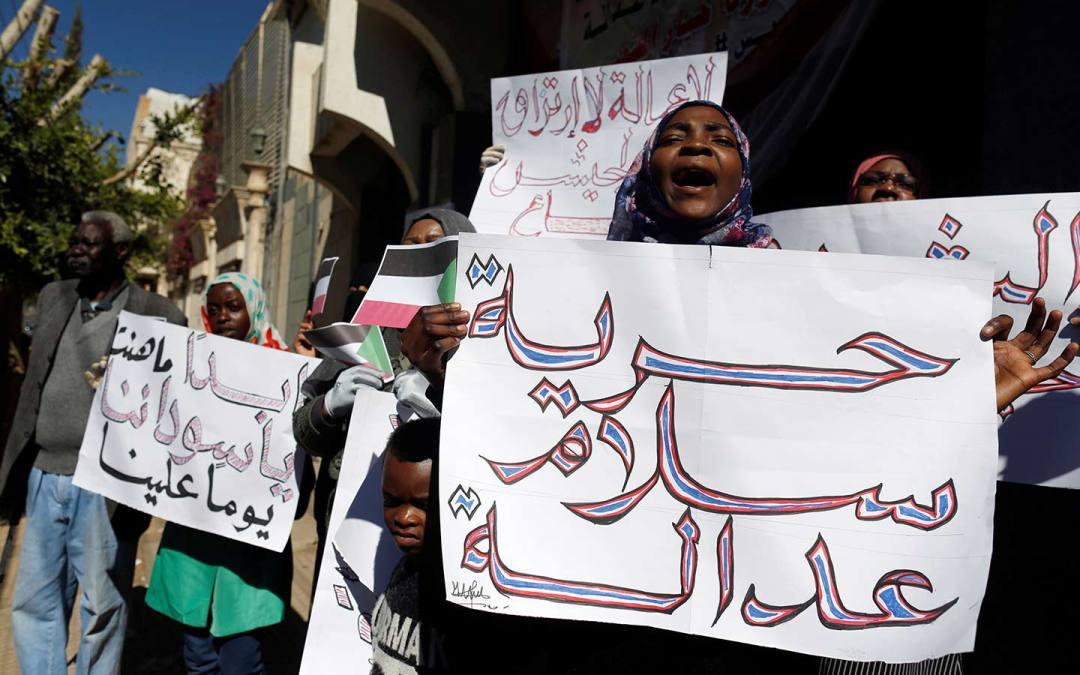 المرأة السودانية تٌصَفّي حساباتها مع نظام البشير