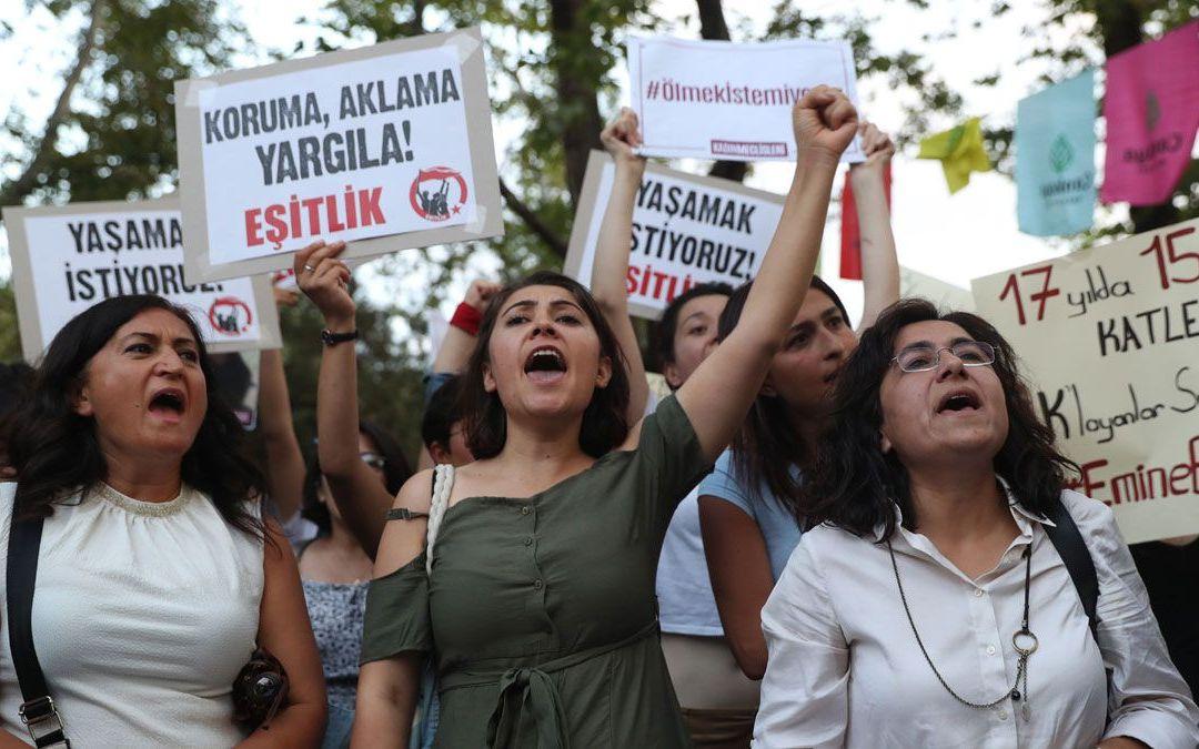 مقتل 27 امرأة في تركيا خلال شهر حزيران 2020 والجرائم بحق النساء والفتيات مستمرة!
