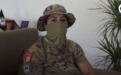 أوّل امرأة في الوحدة المختصة للحرس الوطني على المستويين العربي والتونسي