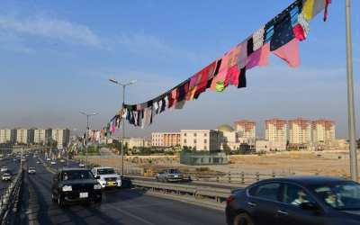 حبل غسيل بطول 5 كيلومترات في إقليم كردستان بالعراق من ملابس نساء معنّفات!