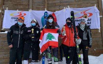 الفريق اللبناني للسيدات يحتلّ المركز الأوّل في بطولة التزلج الألبي ويحصد 3 ميداليات ذهبية و 3 برونزية