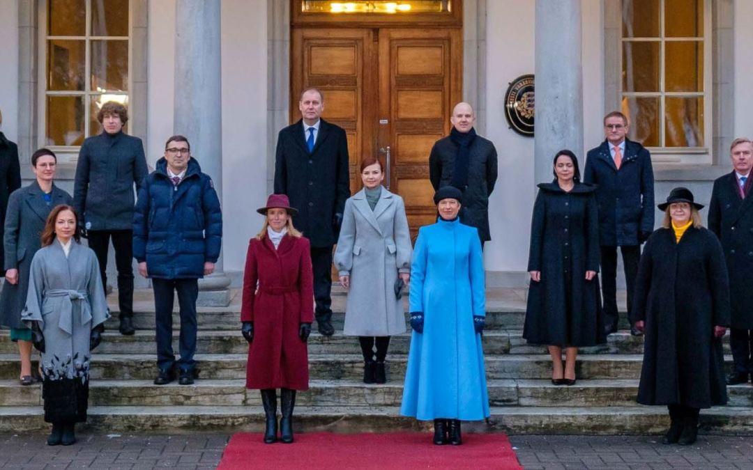 إستونيا الدولة الوحيدة حول العالم التي وصلت فيها النساء إلى أهم منصبين من خلال الانتخابات