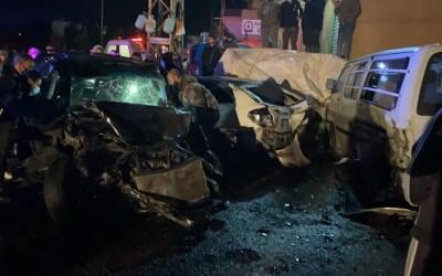 طارد زوجته بالسيارة ما أدى إلى حادث سير أودى بحياة ابنة الـ4 سنوات في دير الزهراني