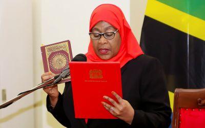 سامية حسن… أوّل امرأة تتولى رئاسة تنزانيا