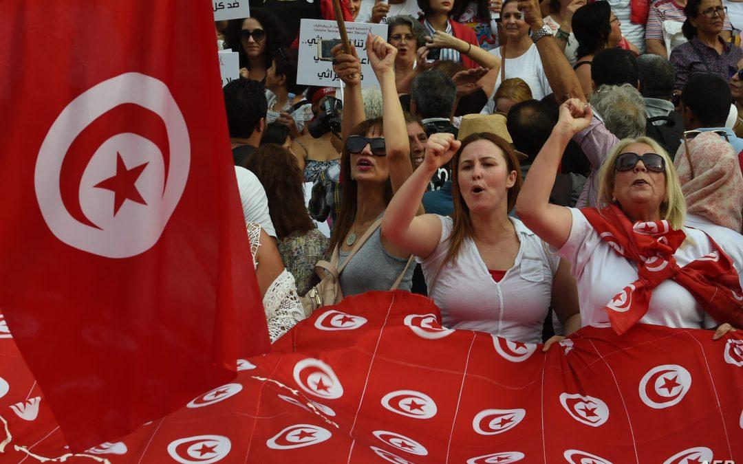 انتفاضة المرأة التونسية لاستعادة مكتسباتها