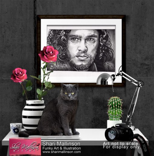 Kit Harington GoT, Print