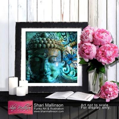 Buddhas Mystery, Print