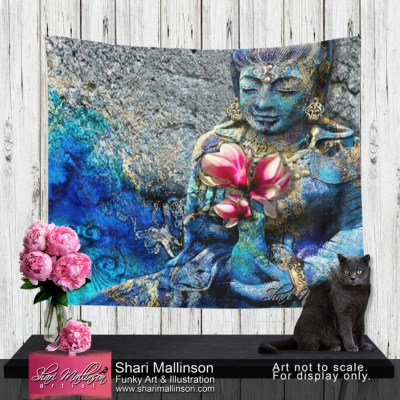 Water Quan Yin, Tapestry