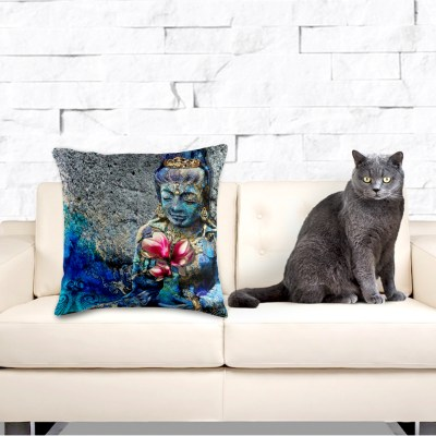 Water Qyan Yin, Throw Pillow