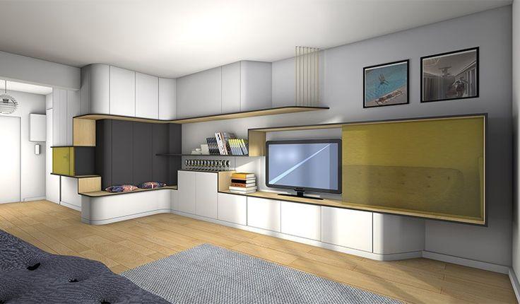 La Maison France 5 Meuble Tv Mobilier Design Dcoration