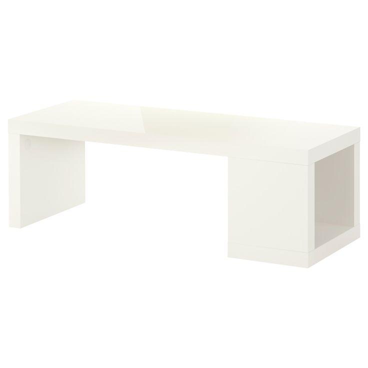 Table Basse Ikea Blanche Lack Mobilier Design Décoration