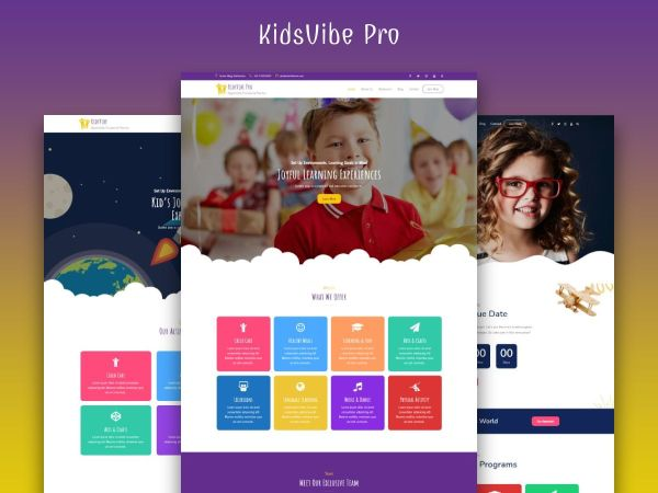 KidsVibe – WordPress Kids Theme